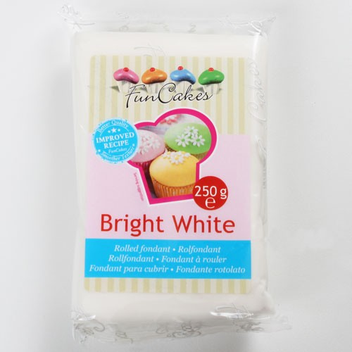 Roll fondant bright white - biely 250 g