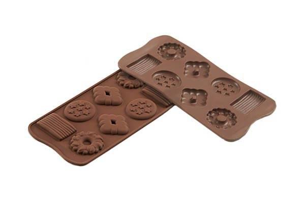 Sil.formička na čokolády biskvit