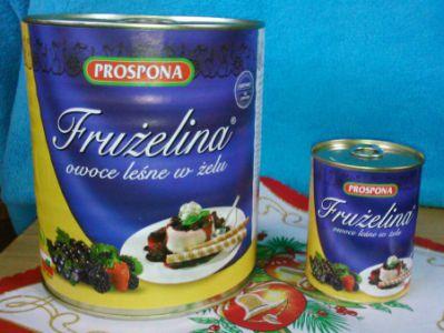 Fruzelina lesné ovocia 380g