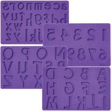 Forma na písmená a číslice Wilton