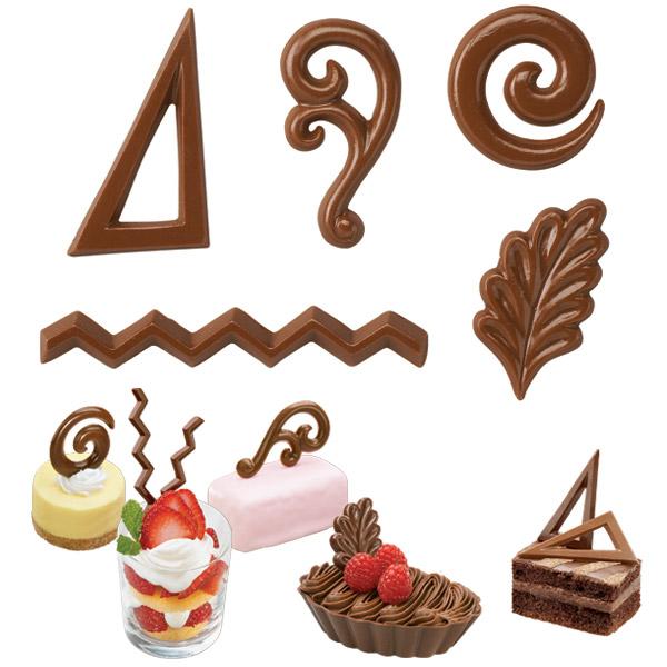 Formičky na čokoládu filigránky