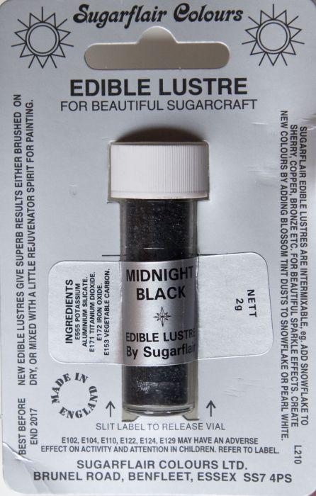 Práškový lesk Midnight black