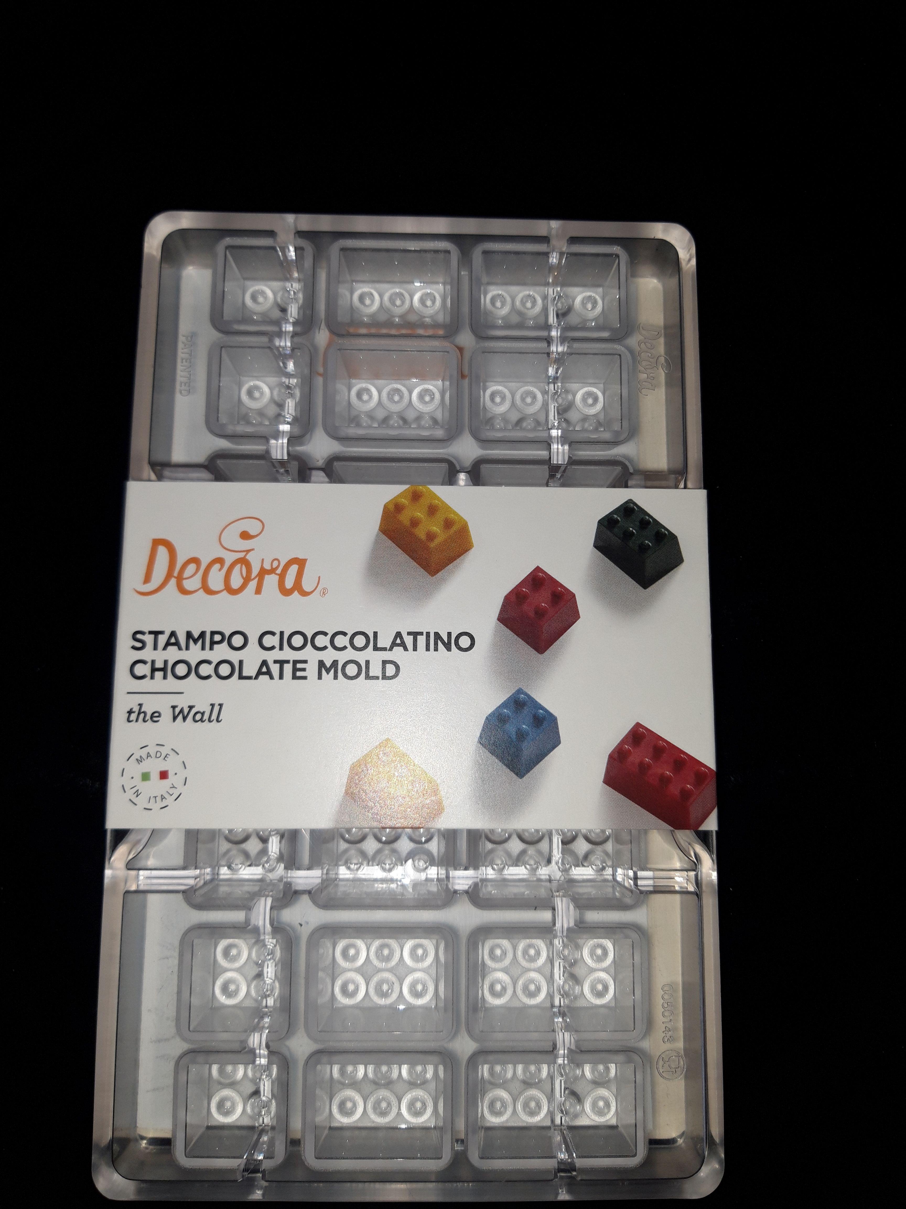 Polykarbonátová forma na čokoládu lego kocky