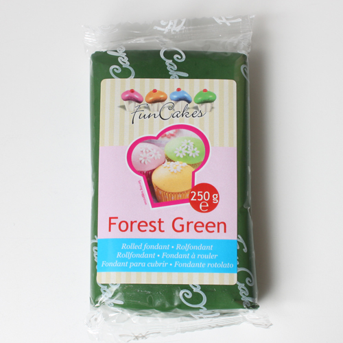 Roll fondant Forest green tmavo zelený 250 g