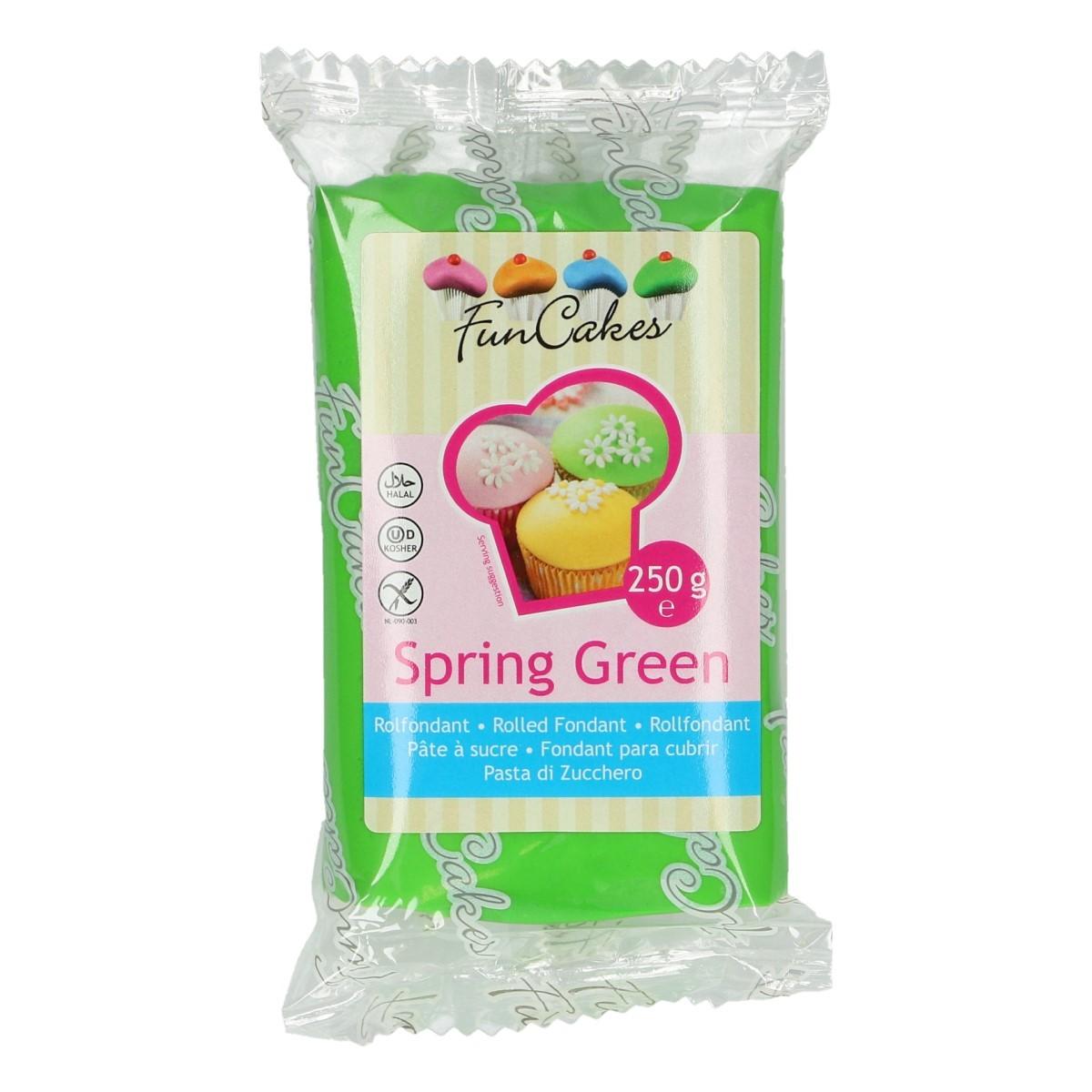 Roll fondant Spring green, jarný zelený  250 g