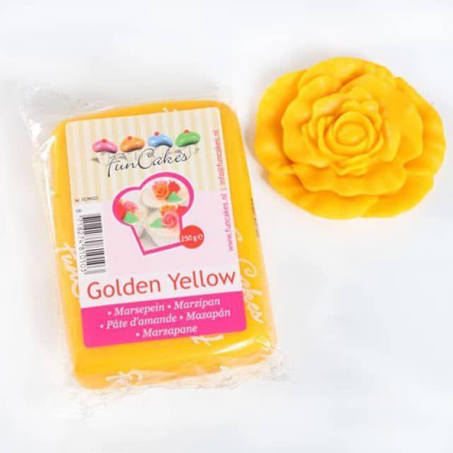Marcipán zlato žltý 250g