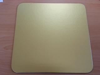 Kartónová podložka obdĺžnik 31x43cm, zlatý