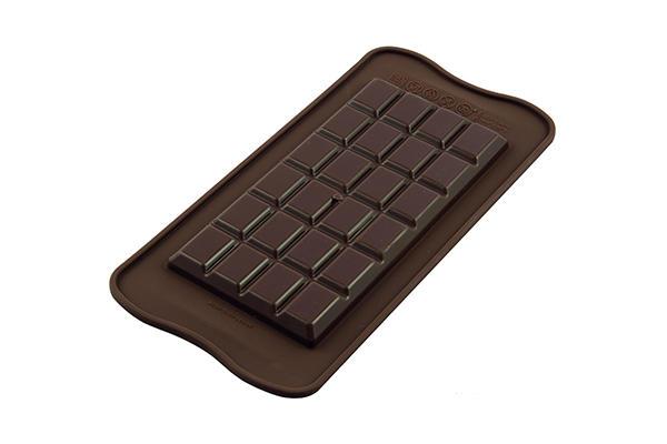 Sil.Forma na čokoládu tabuľka bar classic