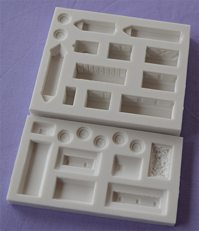Silikonová formička vláčik
