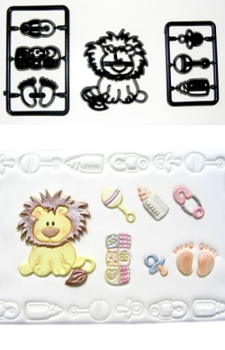 Patchwork - Baby Lion / Nursery Items