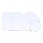 Podložka biela perleťová kruh 27 cm