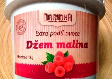 Darinka džem malinový 1 kg