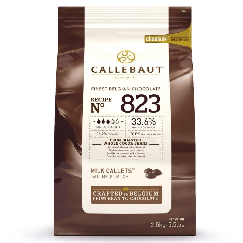 Belgická čokoláda mliečna 2,5 kg