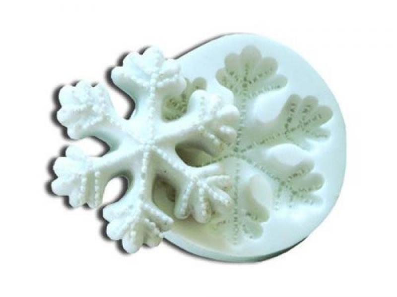 Silik.formička snehové vločky SLK131