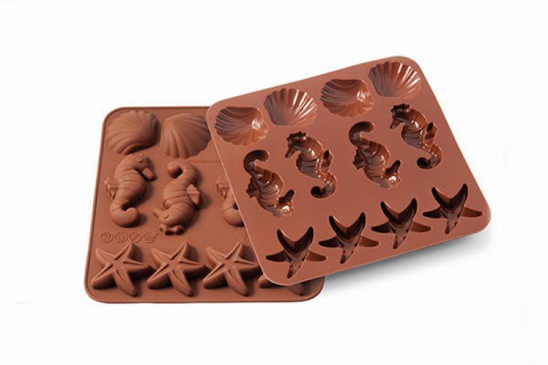 Silikónová formička na čokoládu morský svet