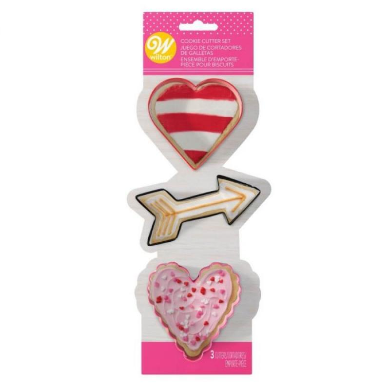 Vykrajovačky Valentín 3 ks