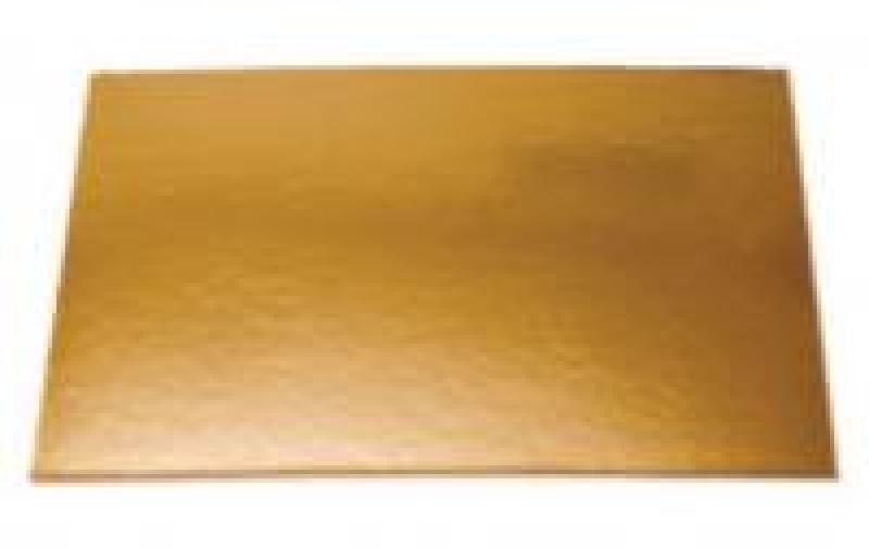Podnos zlatý obĺžnik 36x26 cm