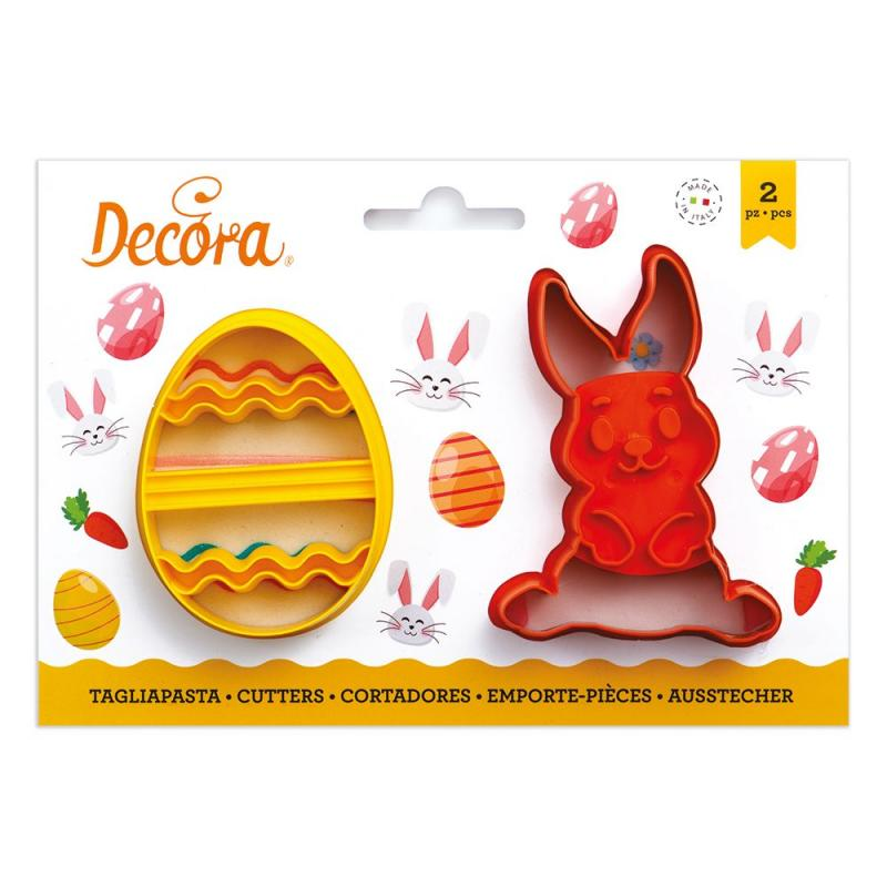 Vykrajovačka veľkonočné vajíčko a zajac 2 ks
