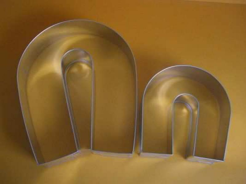 Forma ráfik podkova malá