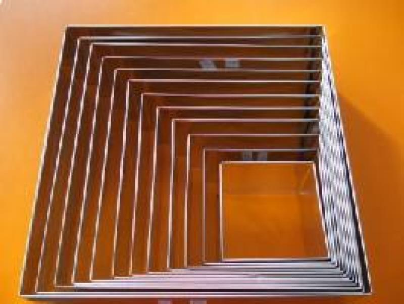 Forma ráfik štvorcová 28x28 cm