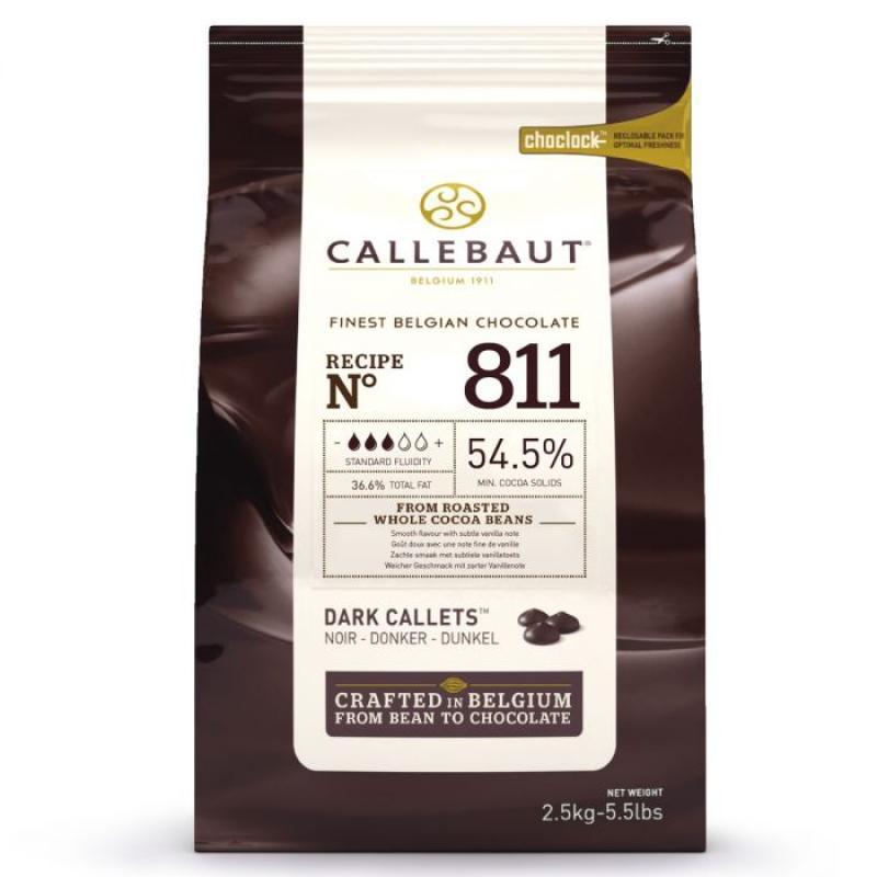 Čokoláda tmavá Belgická 2,5 kg