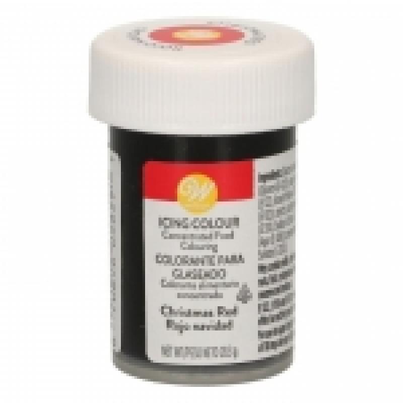 Gélová farba Wilton Cristmas red vian.červená 28,3 g
