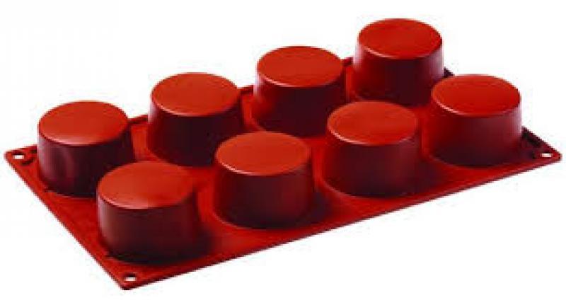 Silikonová forma namiňonky - cilinder FR017