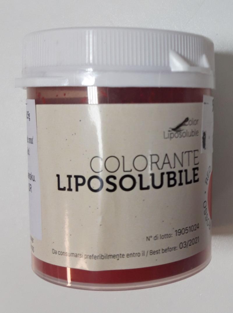 V tuku rozpustná prášková farba červená 25 g