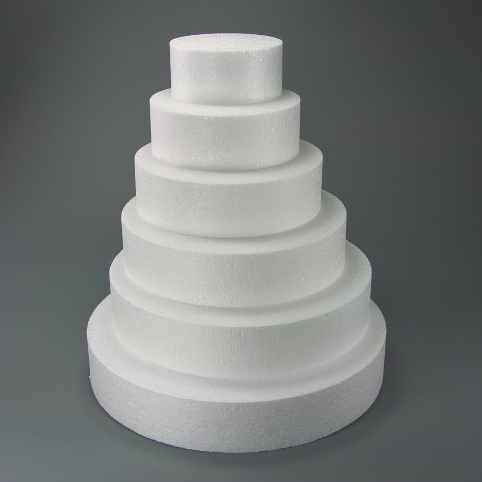 Polystyrénová atrapa kruh 300 mm