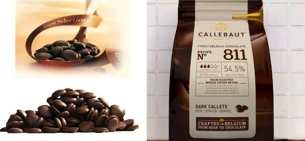 Belgická čokoláda tmavá 54,5% 1 kg