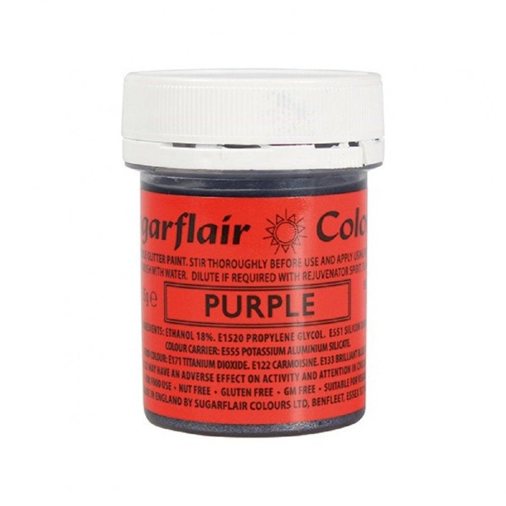 Farba na priame maľovanie Gliter Paint Purple - fialová 35 g