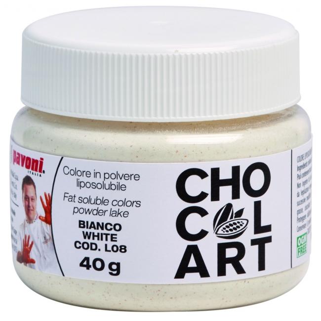 Práškova farba do čokolády biela 40 g