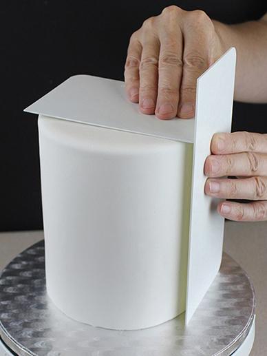 Dlhá 20 cm cm karta-žehlička na uhládzanie