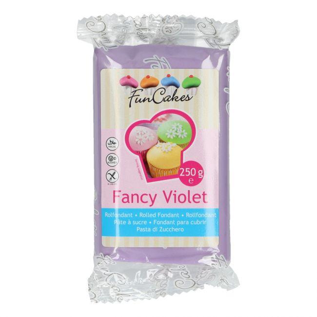 Roll fondant Fancy Violet fialový 250 g