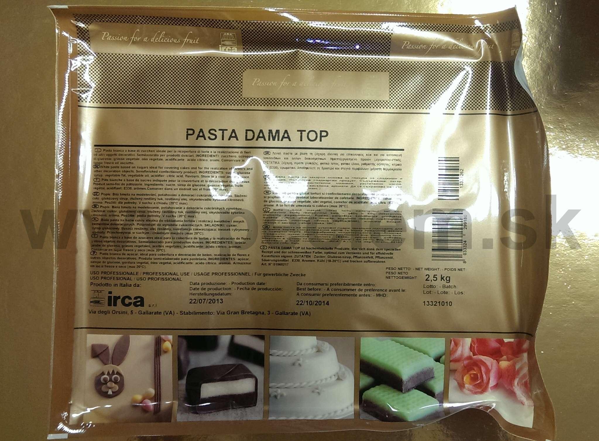 Pasta Dama Top 2,5 kg