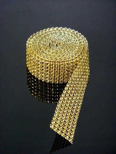 Diamantový pás zlatý 1,50 cm