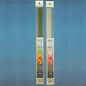 Floristické drôty zelené č.24