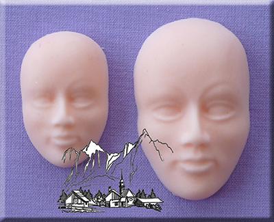 Silikonová formička tváre