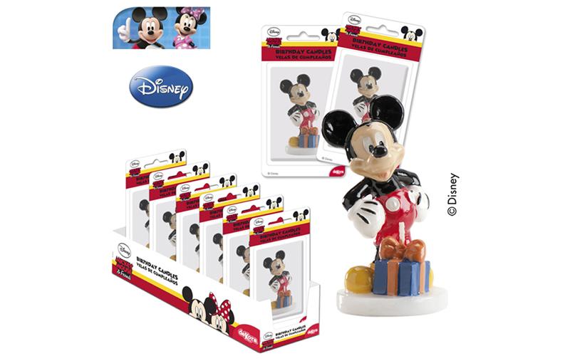 Sviečka Mickey 3D