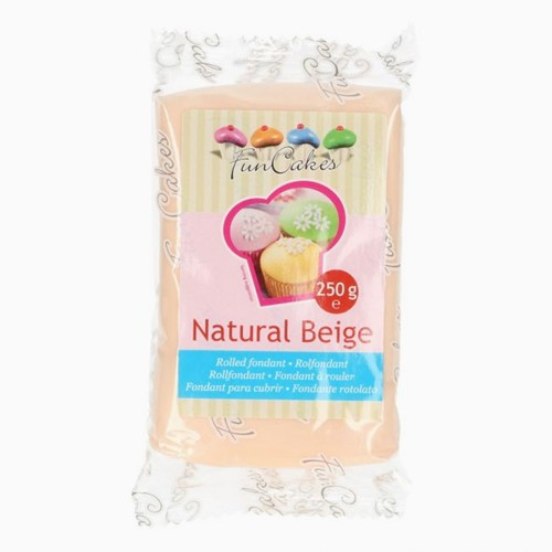 Roll fondant  natural Beige - telovej f. 250 g