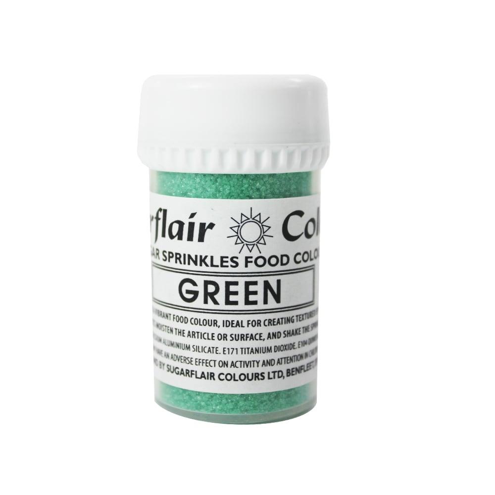 Práškový lesk sugar sprinkles green-zelený 20 g