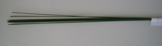 Floristické drôty zelené hrubšie FW20