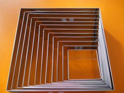 Forma ráfik štvorec 20 cm