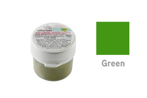 Farba rozpustná v tuku zelená 5 g