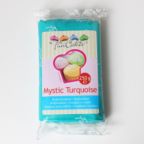 Fondant Mystic Turquoise 250g.