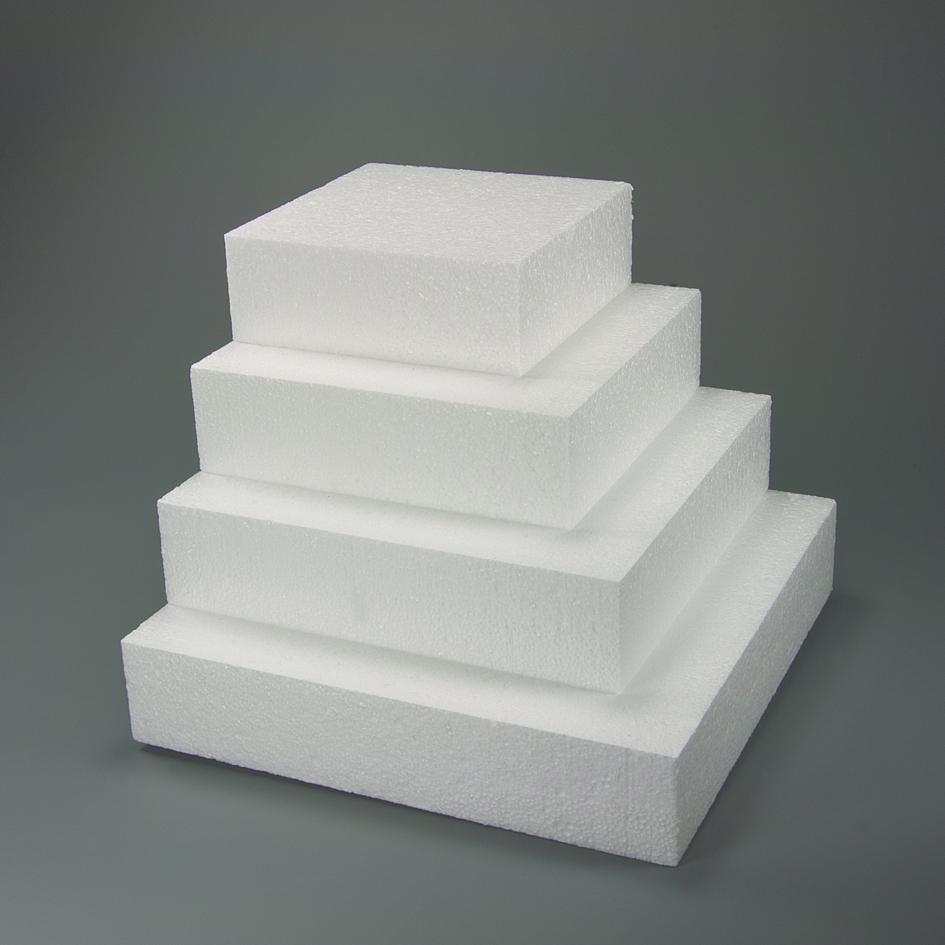 Polystyrénová atrapa štvorec 30x30 cm