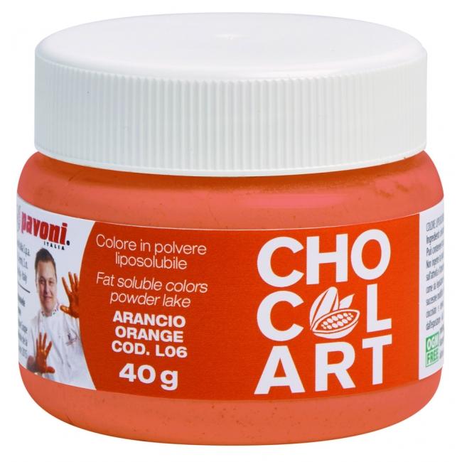 Práškova farba do čokolády oranžová 40 g