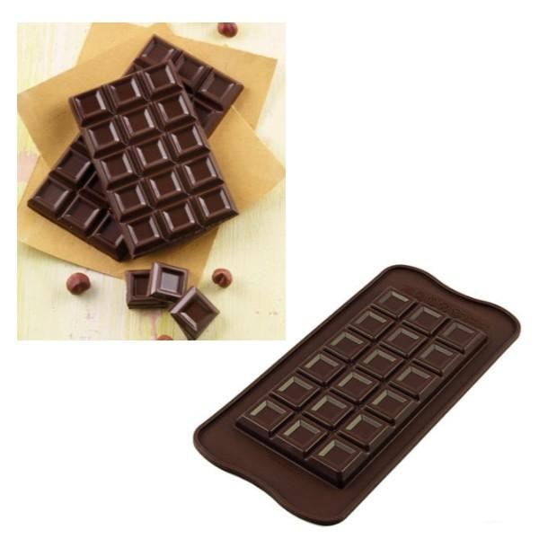 Sil.Forma na čokoládu tabuľka bar tablette