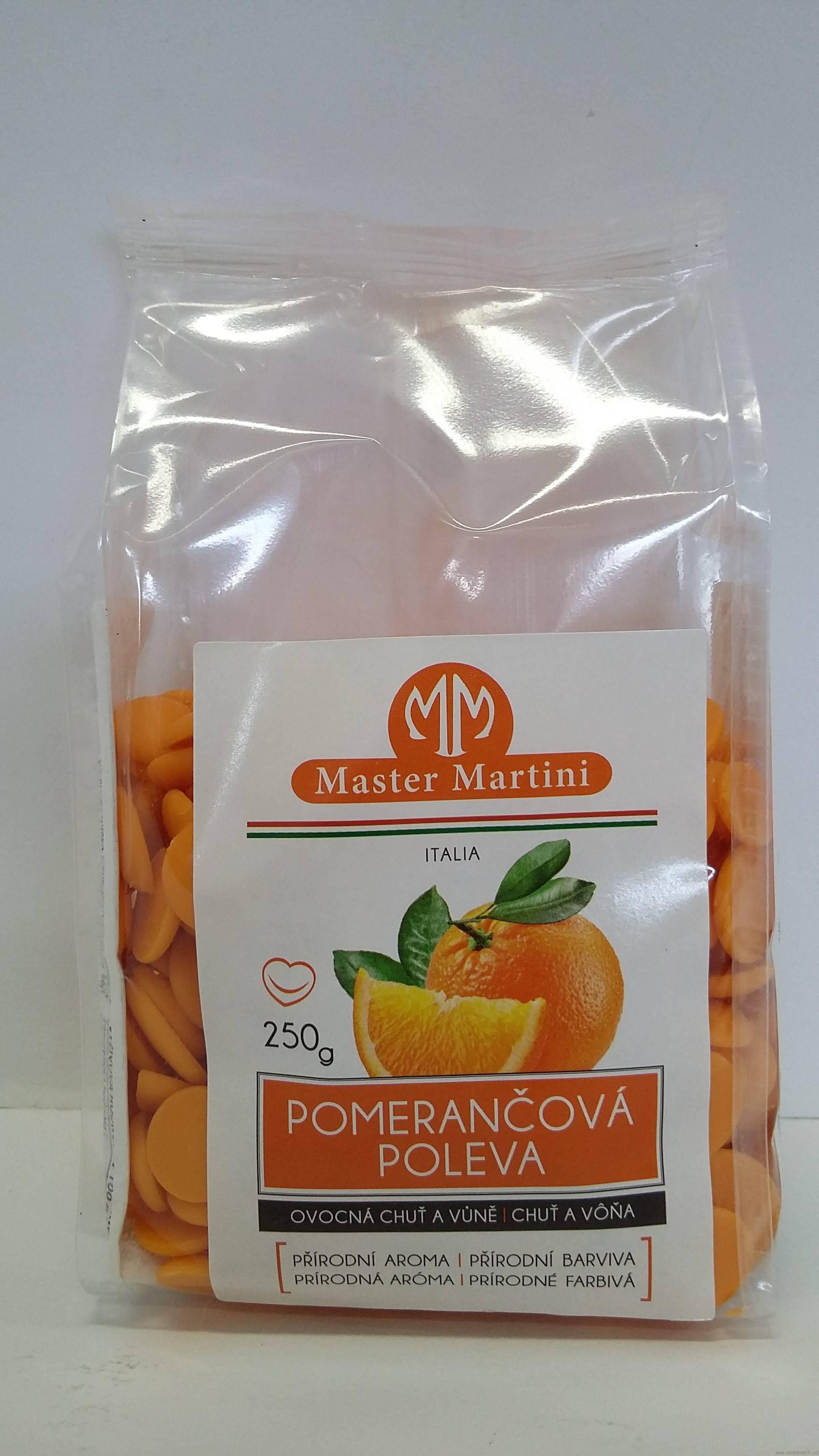 Poleva pomarančová 250 g