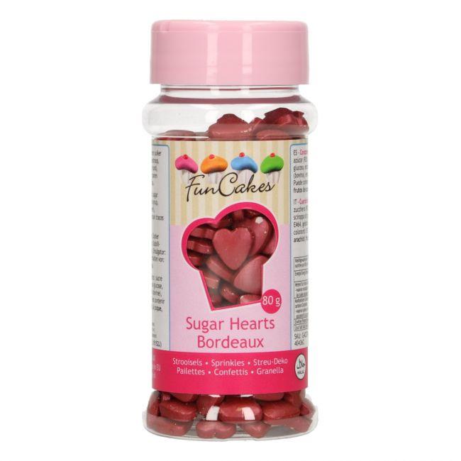 Srdiečka perleťové bordové 80 g